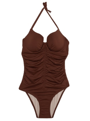 Brown - Bikini - Reflections