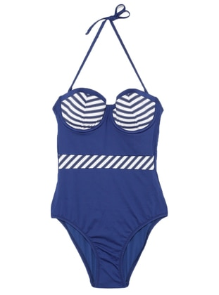 Navy Blue - Bikini - Reflections
