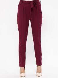 Purple - Maroon - Pants