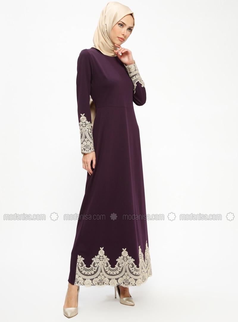 c7ce382d93b purple---crew-neck---unlined---dresses by
