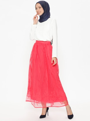Coral - Fully Lined - Skirt