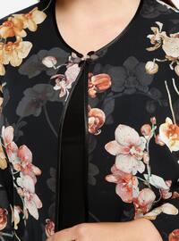 Black - Tan - Multi - Crew neck - Unlined - Plus Size Evening Suit