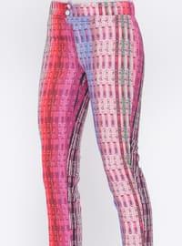Coral - Multi - Pants