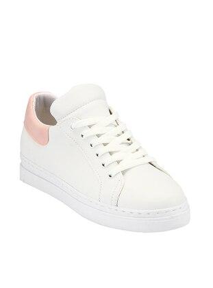 White - Powder - Sport - Shoes