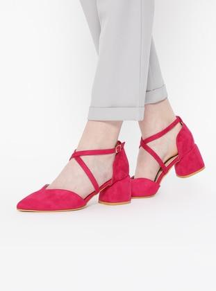 Pink - High Heel - Sandal - Heels