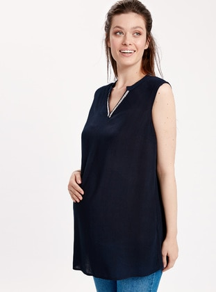 Navy Blue - Maternity Tunic - LC WAIKIKI