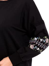 Black - Sweat-shirt
