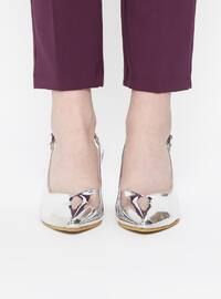 Silver tone - High Heel - Sandal - Heels