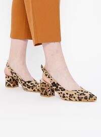 Topuklu Ayakkabı - Kahve - Sitill