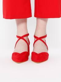 Red - High Heel - Sandal - Heels
