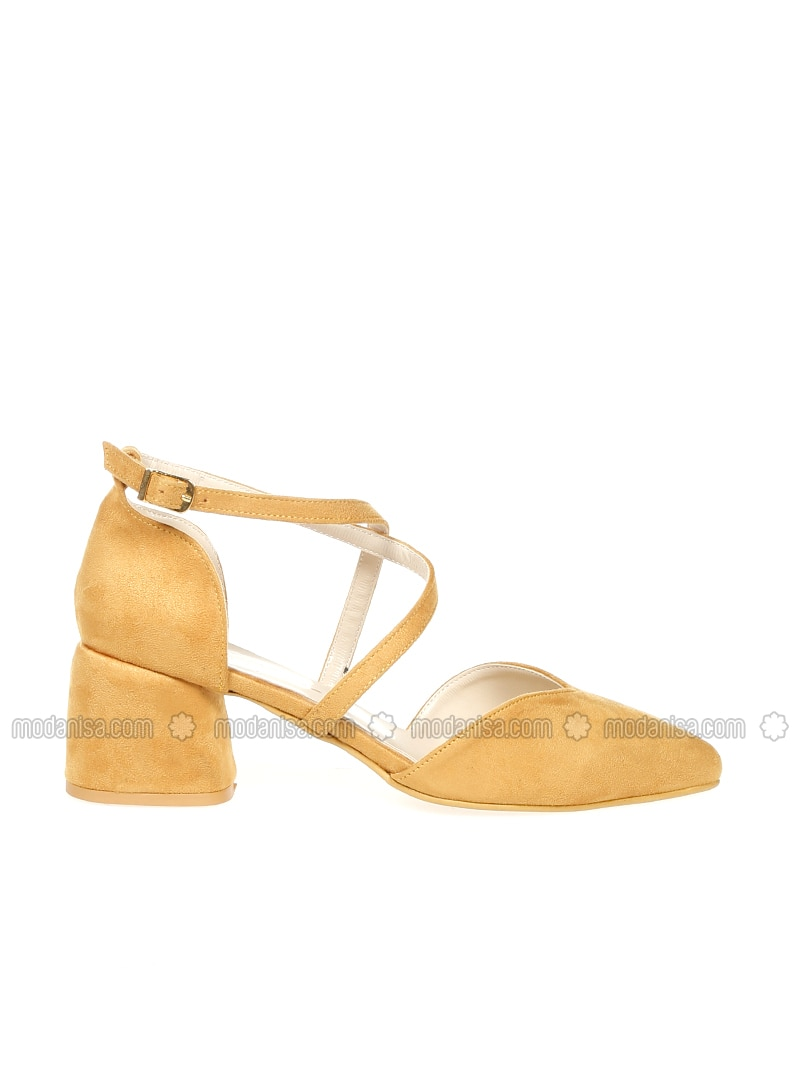 7bb1c5cc07b Yellow - Mustard - High Heel - Sandal - Heels