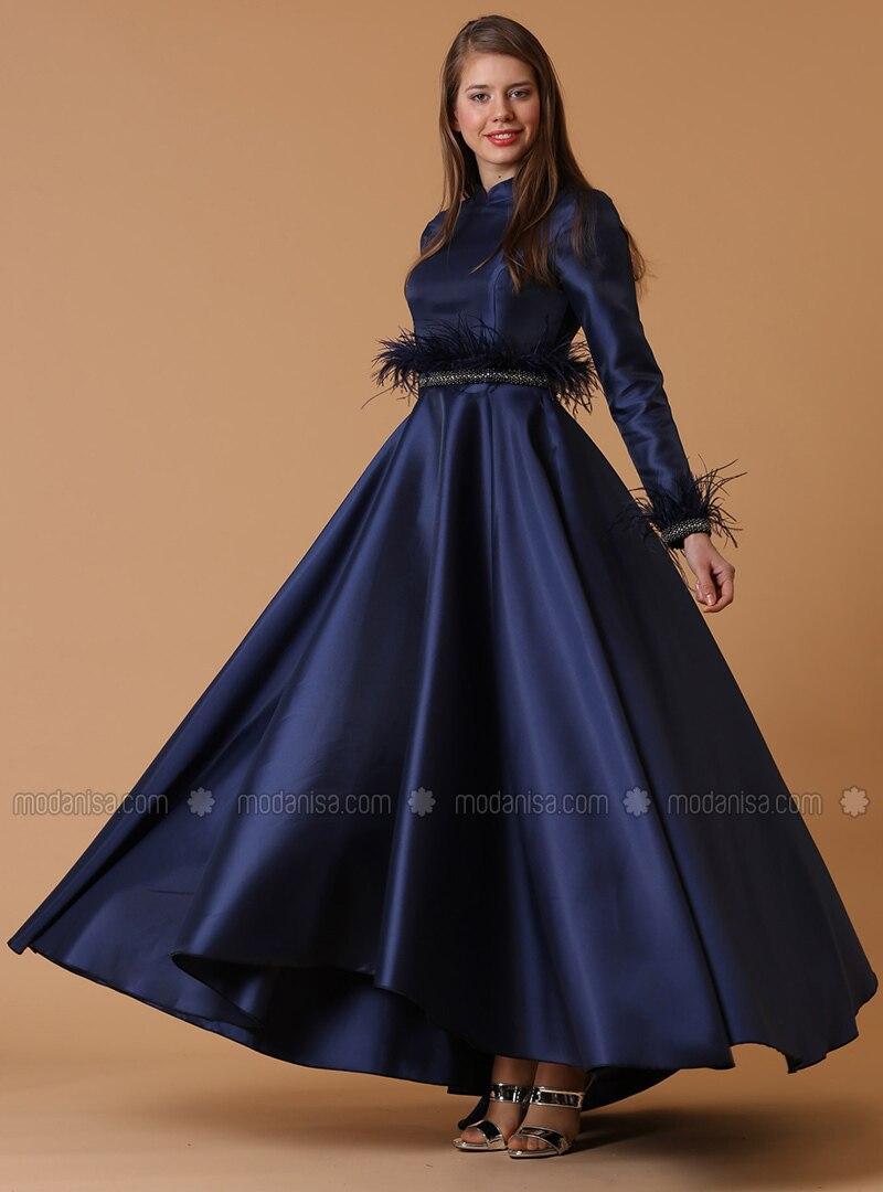 Navy Blue Evening Gowns