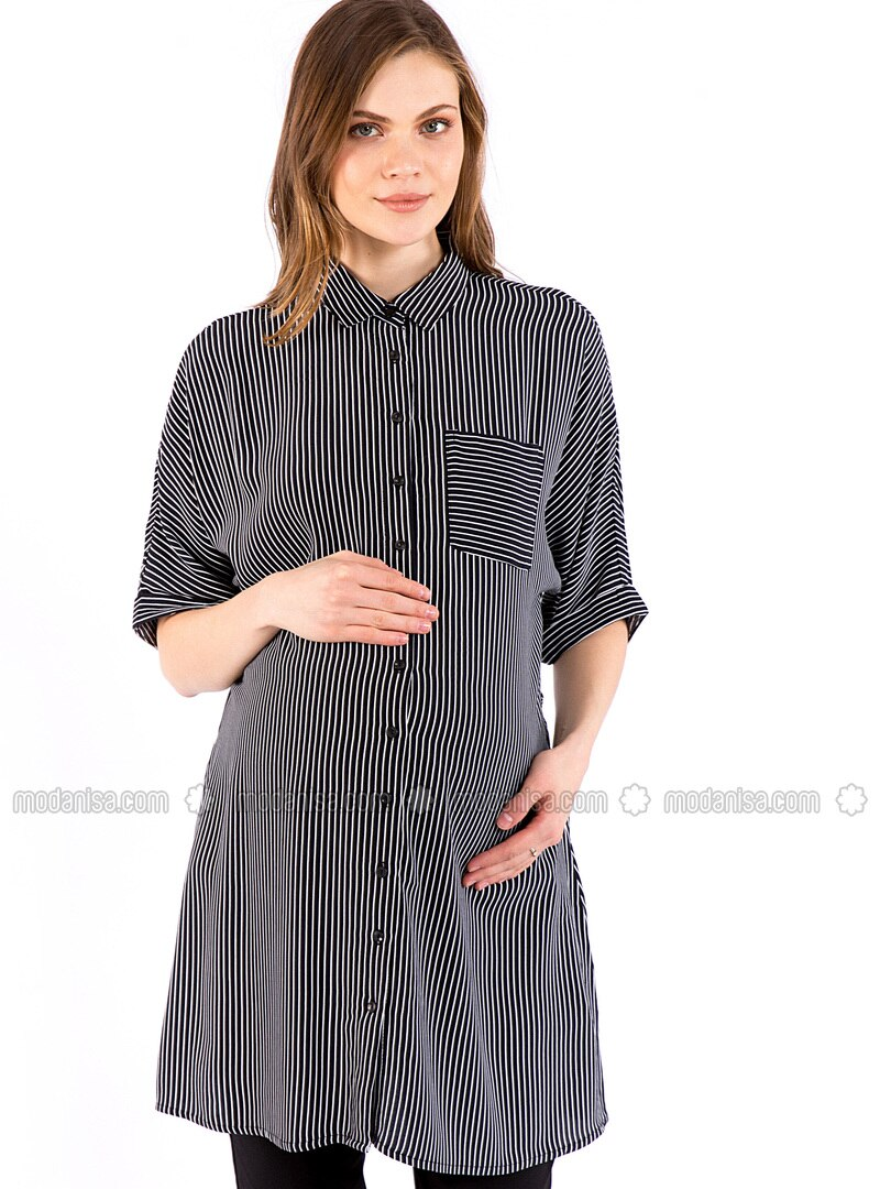 Black - Maternity Dress