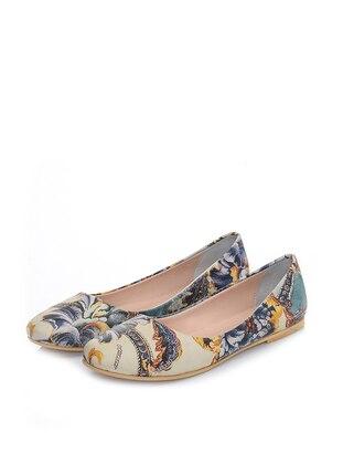 Just Shoes Babet - Karışık Renkli
