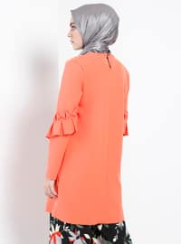 Salmon - Crew neck - Tunic