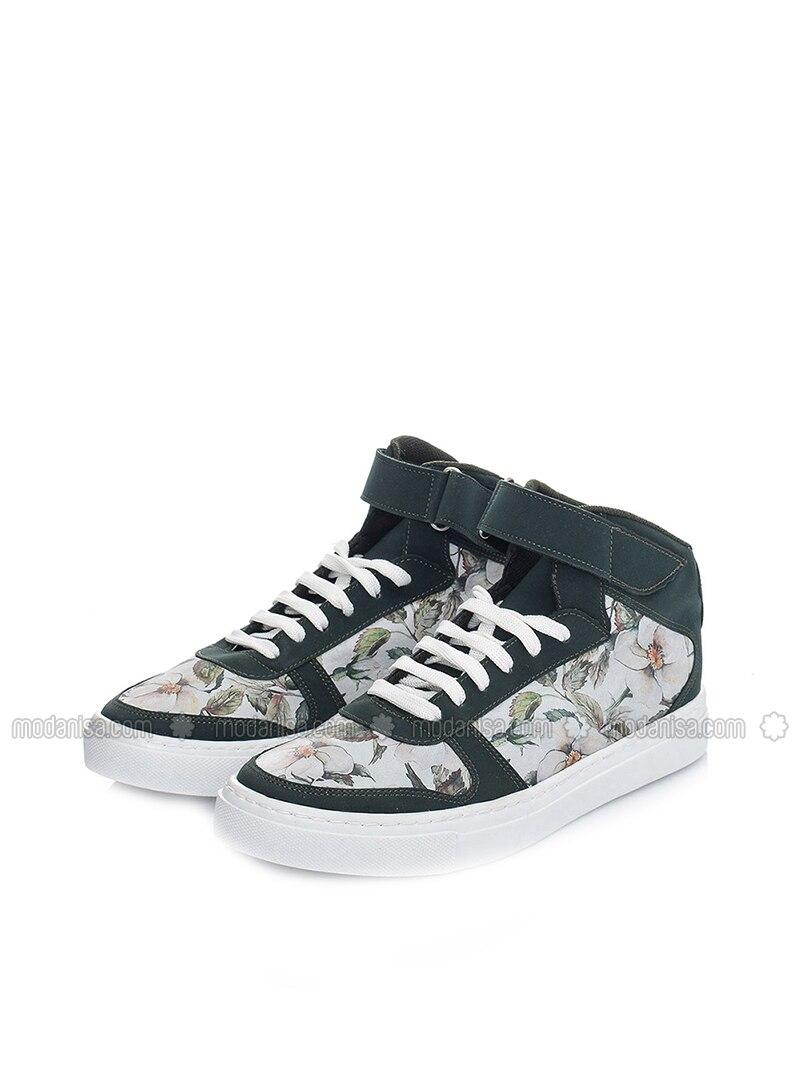 Green - Multi - Sport - Sports Shoes