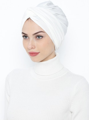 Ecru - Simple - Bonnet