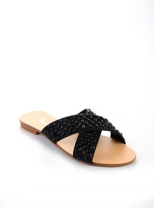 Black – Sandal – Slippers – Bambi