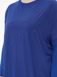 Saxe - Crew neck - Plus Size Tunic