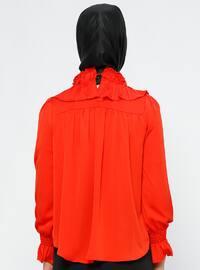 Coral - Polo neck - Blouses