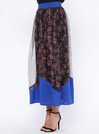 Saxe - Multi - Fully Lined - Skirt