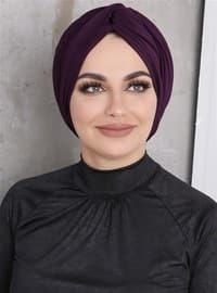 Plum - Simple - Bonnet
