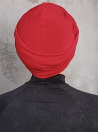 Red - Simple - Bonnet