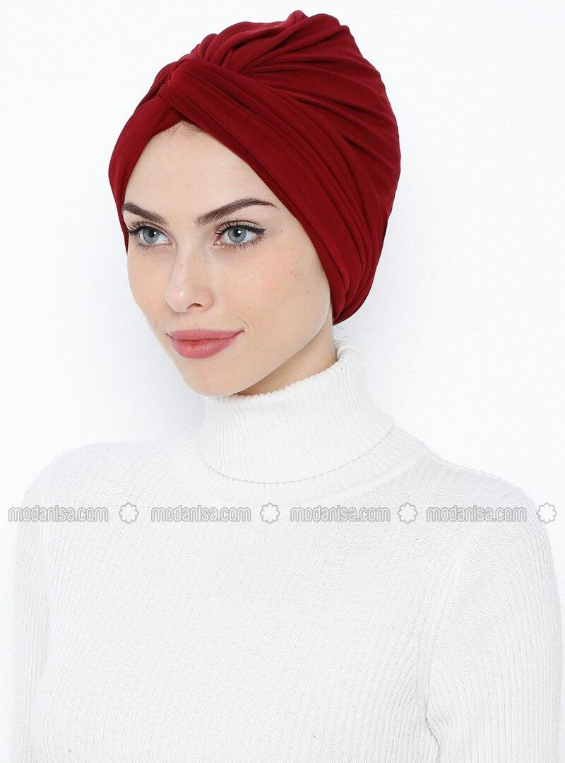 Maroon - Simple - Bonnet