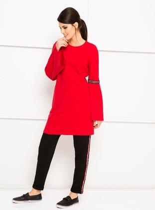 Sweatshirt - Kırmızı - LC WAIKIKI Ürün Resmi