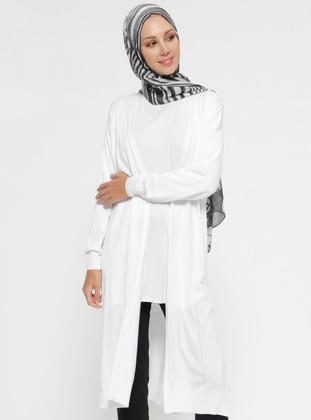 White - Cardigan