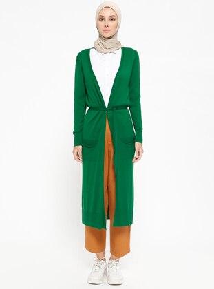 Green - Cardigan