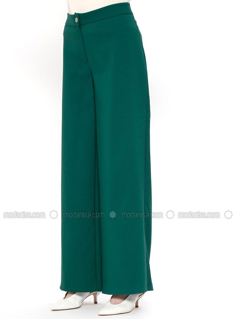 info pour 9ce8a 0d8be Vert Emeraude - Pantalon