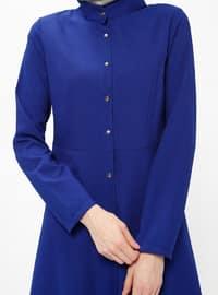 Saxe - Button Collar - Tunic