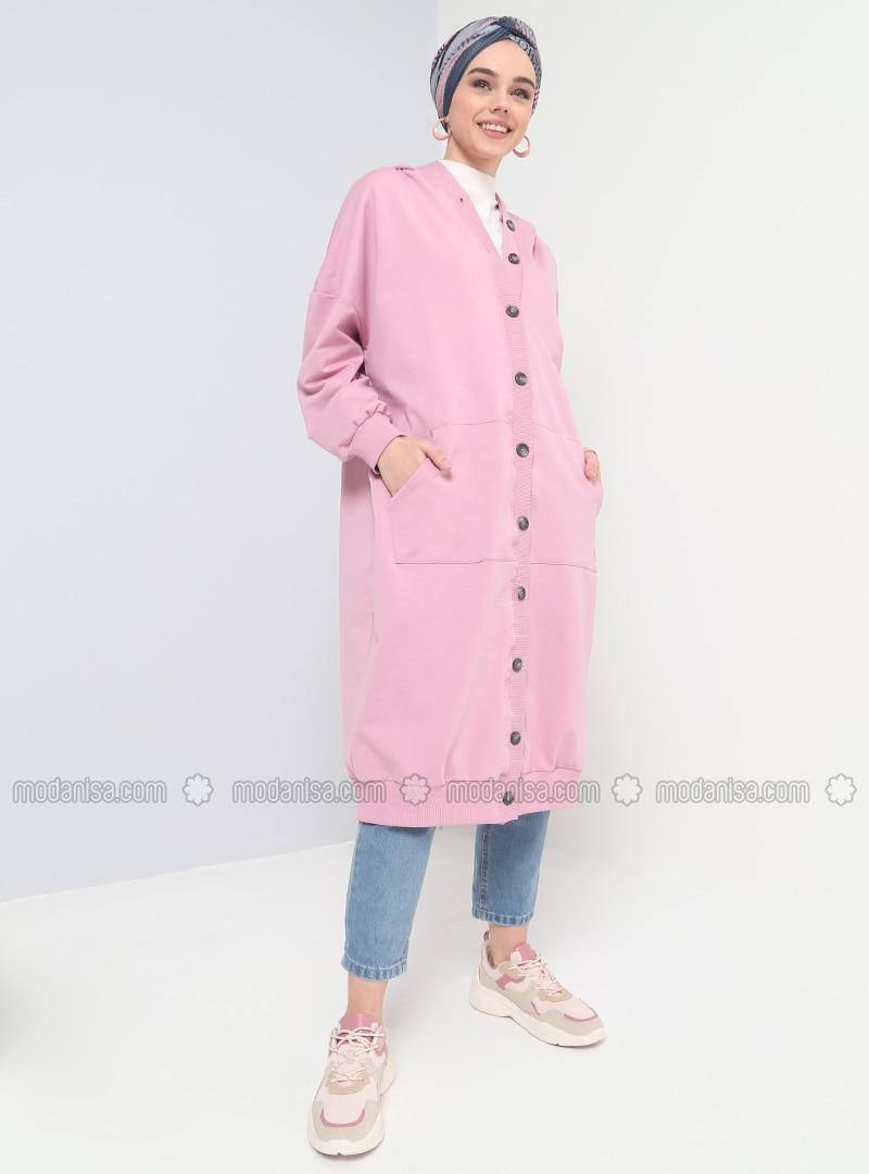 Pink - Unlined - Topcoat