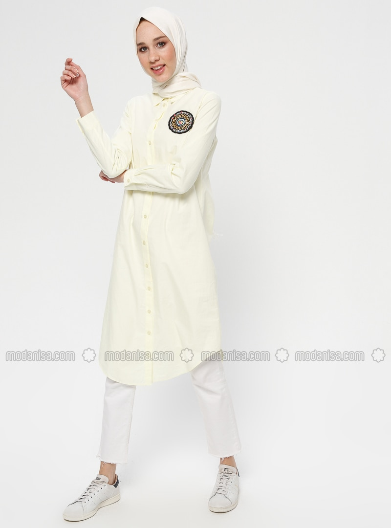 Yellow - Cotton - Tunic