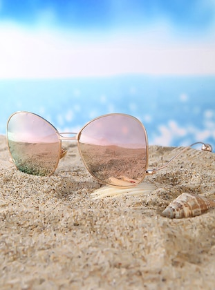 Pink - Sunglasses - Di Caprio