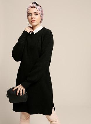 30bbdab7b06fe Triko - Kazak, Bluz, Tunik ve Hırka Modelleri | Modanisa