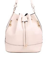White - Ecru - Shoulder Bags