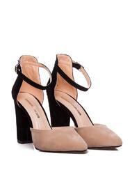 Black - Powder - High Heel - Heels