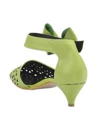 Green - High Heel - Heels