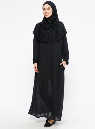 Navy Blue - Unlined - Prayer Clothes - Hal-i Niyaz