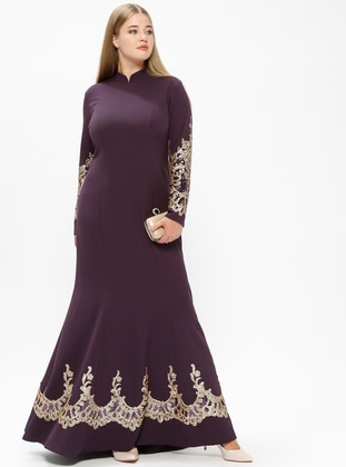 Muslim Plus Size Evening Dress Models Modanisa