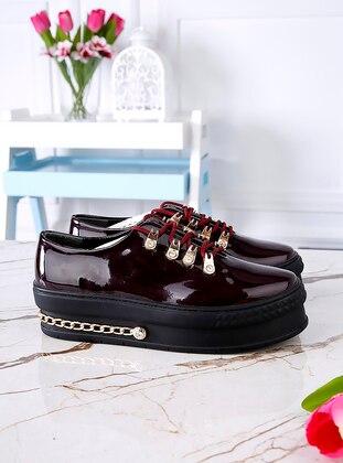 Polo Prestige Spor Ayakkabı - Bordo