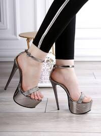 Ayakkabı - Gümüş - Polo Prestige