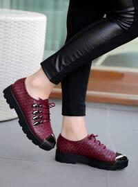 Spor Ayakkabı - Bordo - Polo Prestige