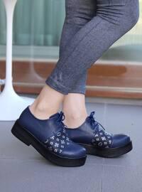 Spor Ayakkabı - Lacivert - Polo Prestige