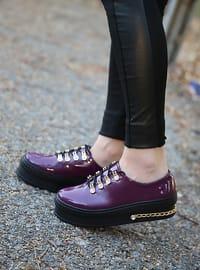 Spor Ayakkabı - Mor - Polo Prestige