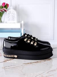 Spor Ayakkabı - Siyah - Polo Prestige