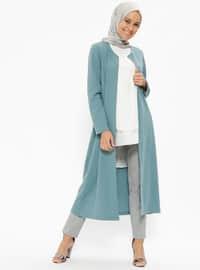 Uzun Ceket - Mint - Miss Paye