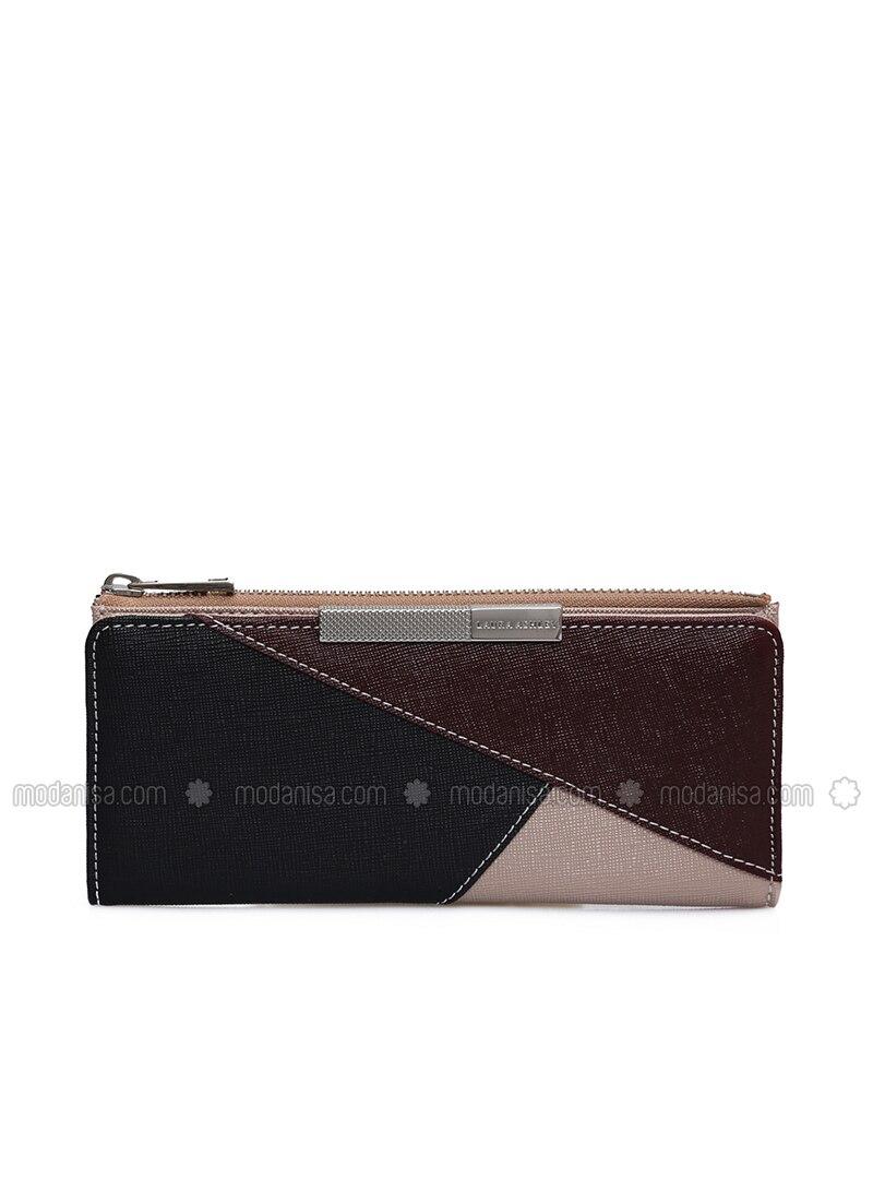 Red - Black - Gold - Wallet